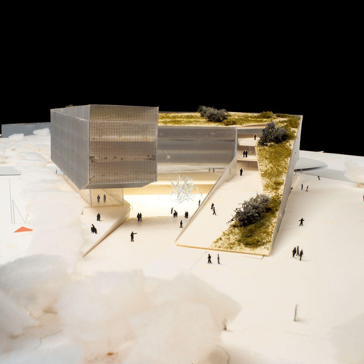 Mario cucinella architects slope archi pinterest for Cucinella architects