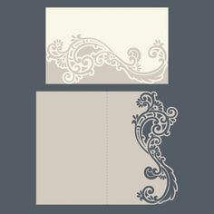 laser cut wedding invitations envelope pocket template free vector designs every day - Free Laser Cutter Templates