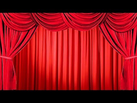 How To Create The Effect Of Opening And Closing The Stage Red Curtain On Red Curtains Green Screen Video Backgrounds Gold Curtains