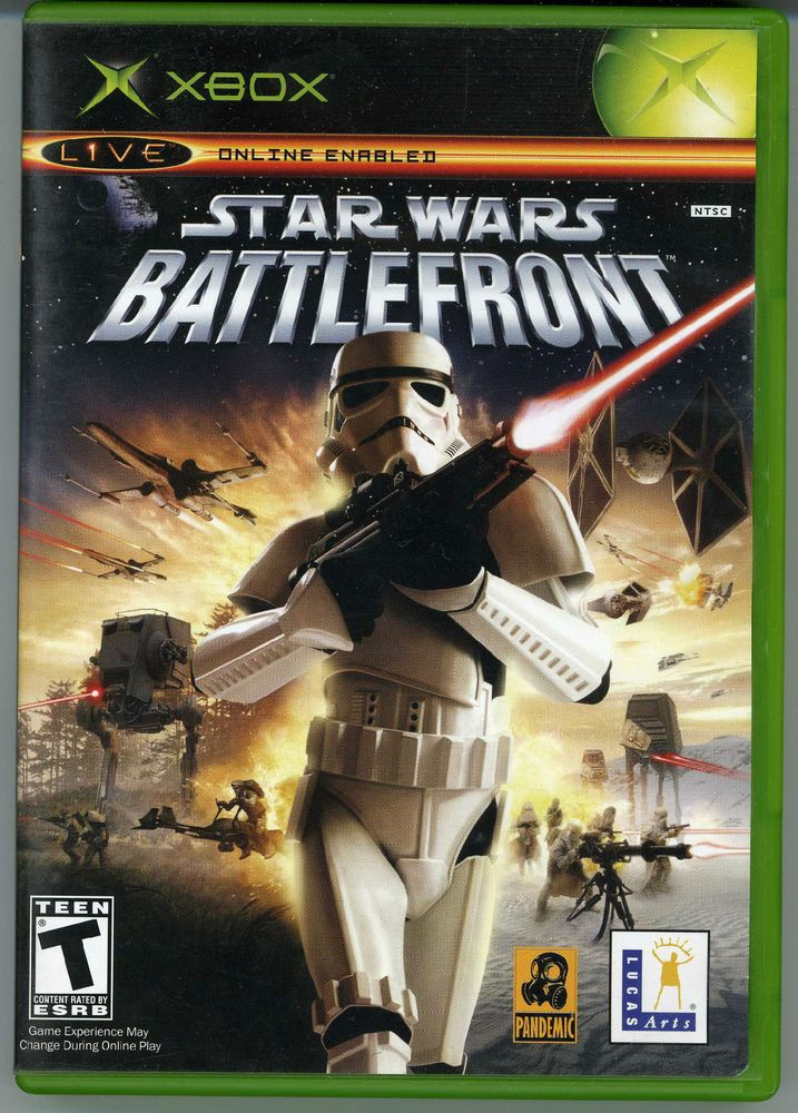 Very Rare Star Wars Battlefront Black Label Xbox Complete