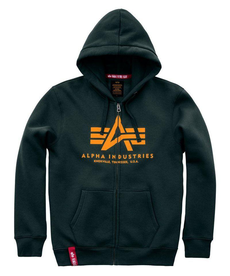 Alpha Industries Kapuzensweatjacke »Basic Zip Hoody« | móda