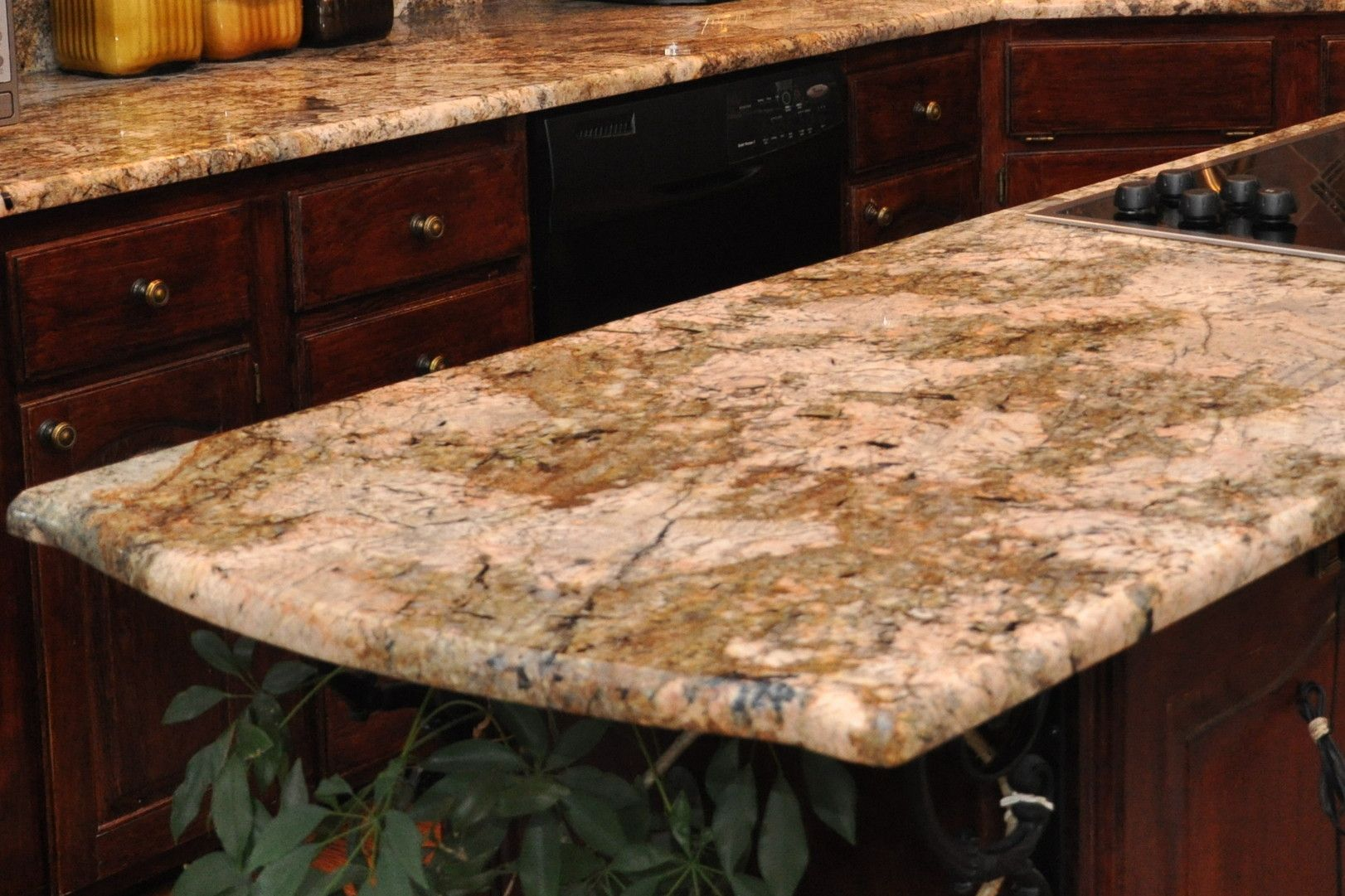 Granite Countertop With A Demi Bullnose Edge Granite Countertop Edges Granite Countertops Kitchen Remodel Countertops