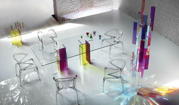 Ava Stackable Chair Roche Bobois Salle A Manger Verre Salle A Manger Design Table Salle A Manger