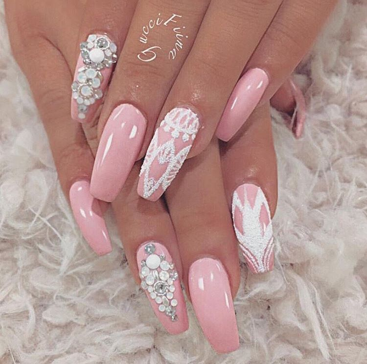 expensivetastexox: Female Side   acrylic nails & artificial nails ...