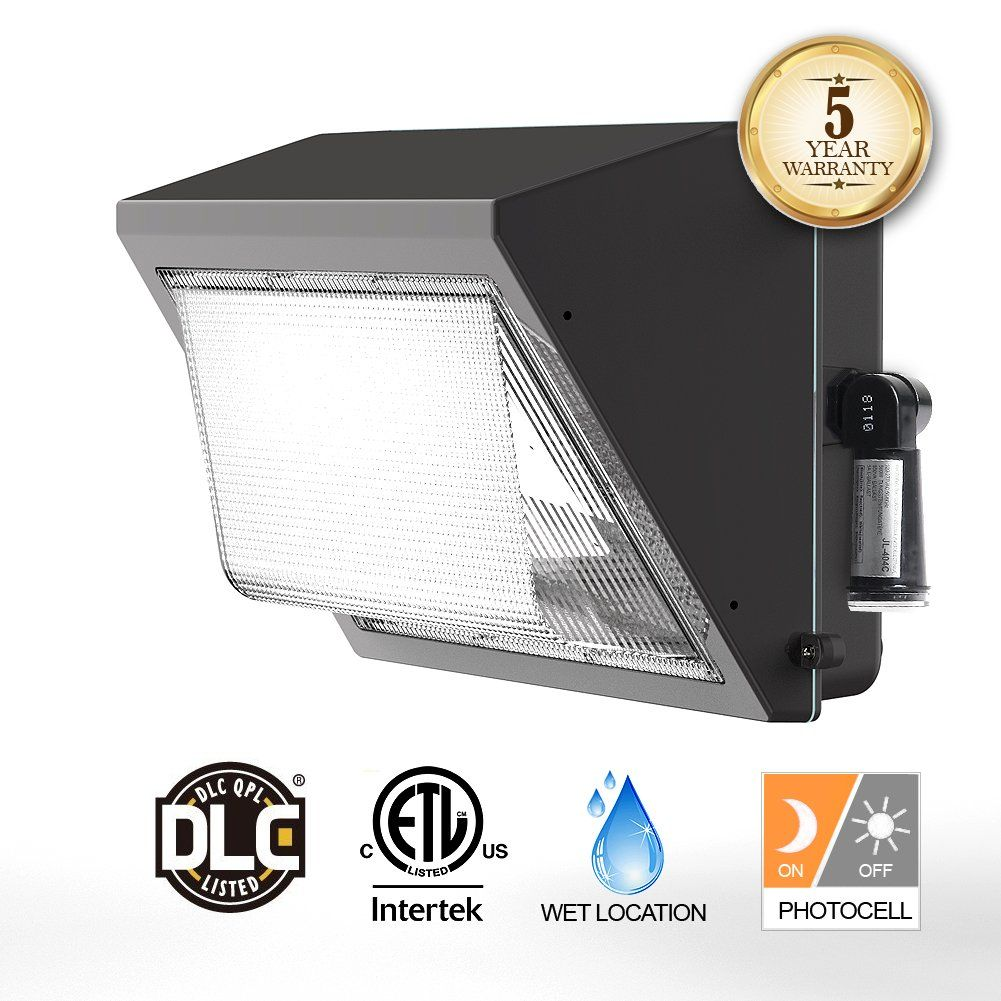 Led Wall Pack Light With Dusk To Dawn Photocell 100w Outdoor Lighting 5000k 12500lm 300 400w Hps Security Lights Wall Pack Lights Outdoor Wall Light Fixtures
