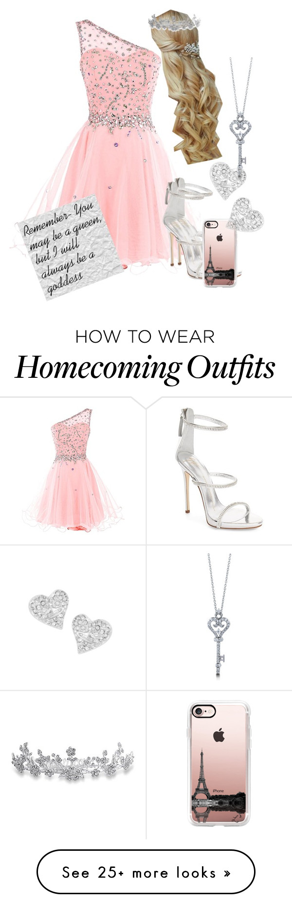 """""""Glimmer at Prom"""" by fabulously-awesome7 on Polyvore featuring Giuseppe Zanotti, BERRICLE, Casetify, Vivienne Westwood and Bling Jewelry"""