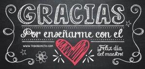 Feliz día del maestro en imágenes de amor