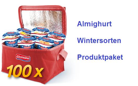 Almighurt Wintersorten Produktpaket Kostenlose Produktproben Gratis Muster Produkt