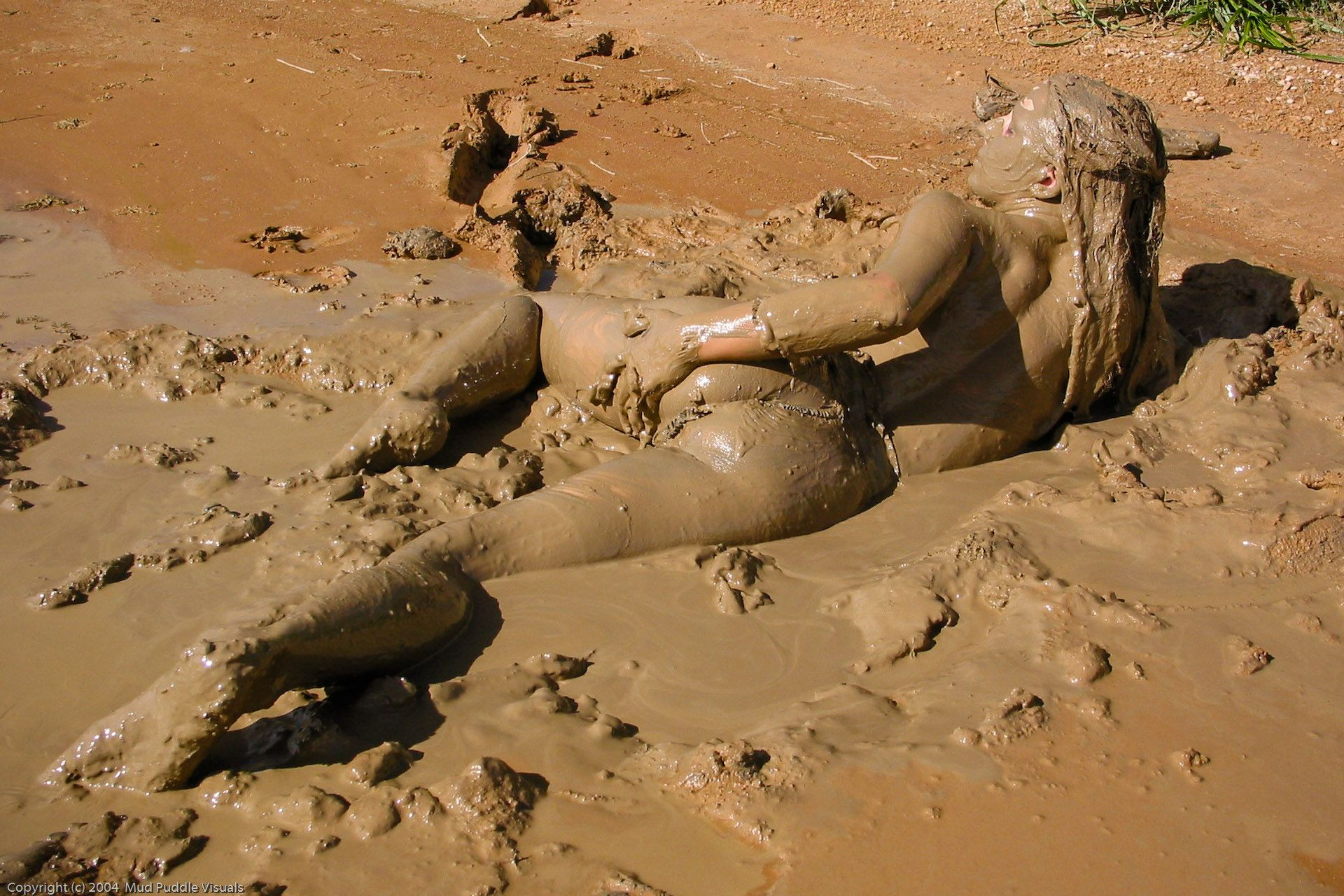 Naked girl stuck in the mud boy sex