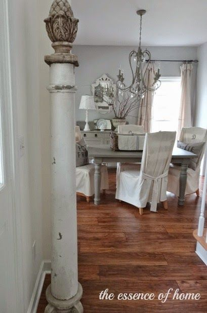 The Essence of Home: Decorating with Old Columns | Shabby ...