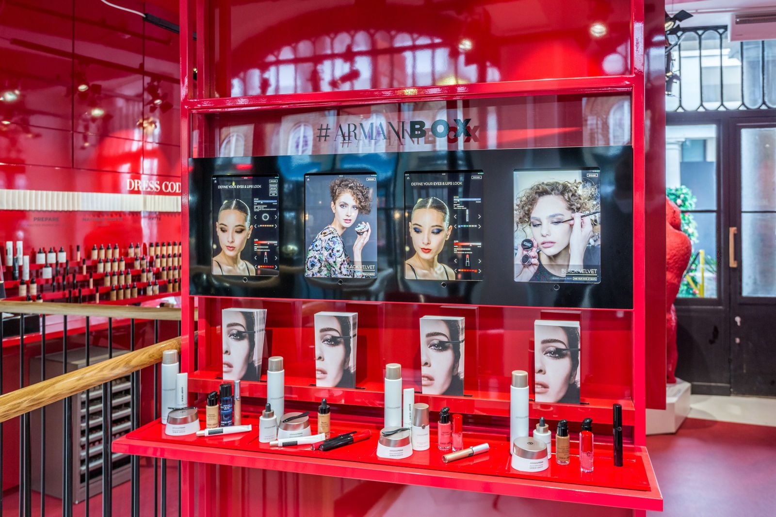 Armani launches first UK beauty pop-up store