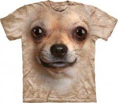 Maglietta Big Face Chihuahua   http://www.doxbox.it/shop/products/Maglietta-Big-Face-Chihuahua.html