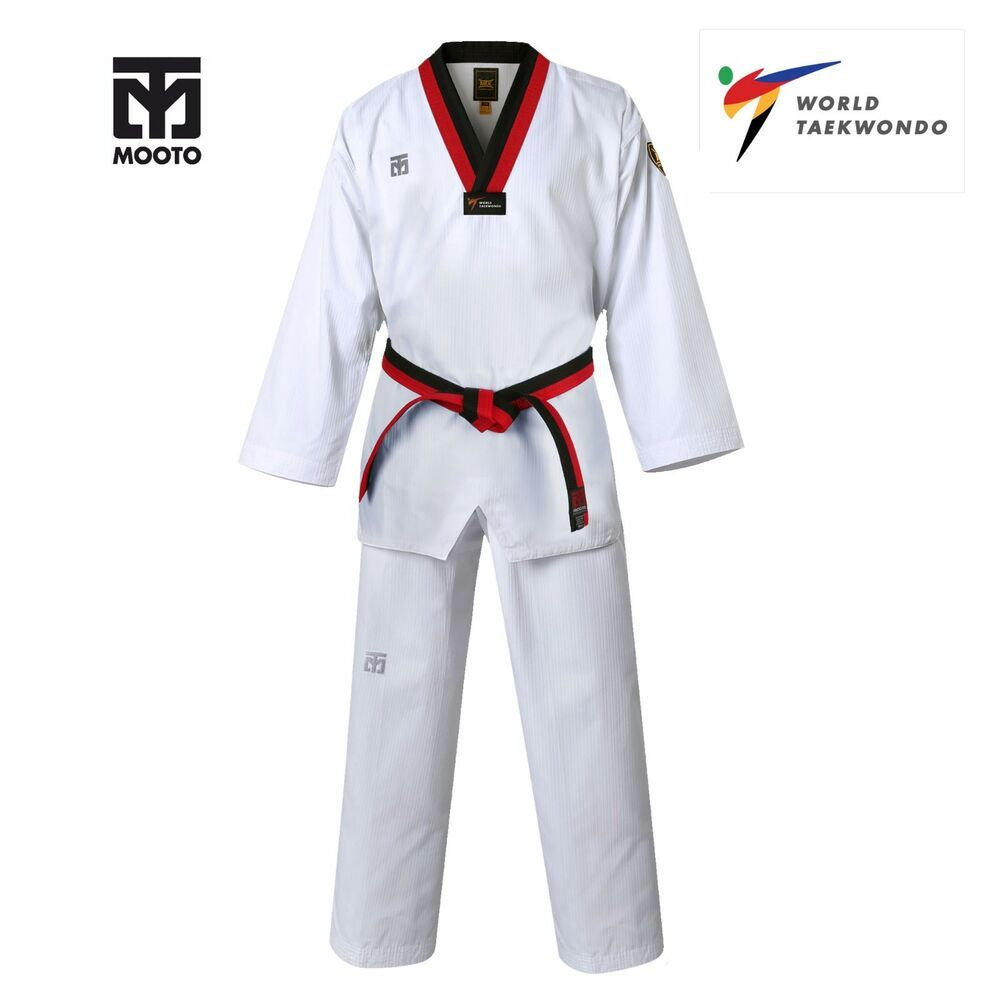 Mooto BS4 Kukkiwon Demoteam Uniform Taekwondo TKD Tae Kwon Do Dobok Korean