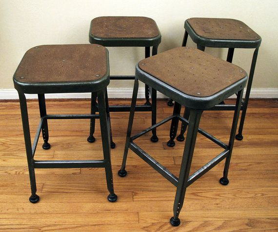 Industrial Lyon Work Stool  4 Available & Industrial Lyon Work Stool : 4 Available | Home Away | Pinterest ... islam-shia.org