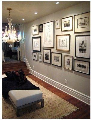 Large frames, large mattes diy-projects | Decorating | Pinterest ...