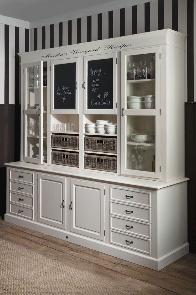 One of my most wanted items - Martha's Vineyard recipes cabinet from Riviera Maison.