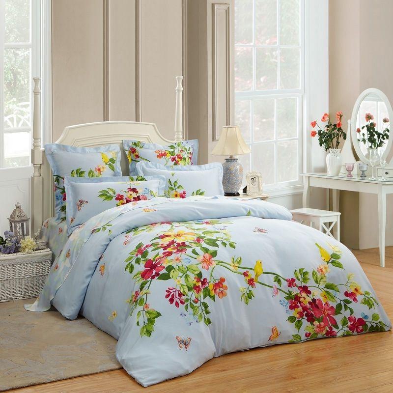 love bird themed full size bedding sets