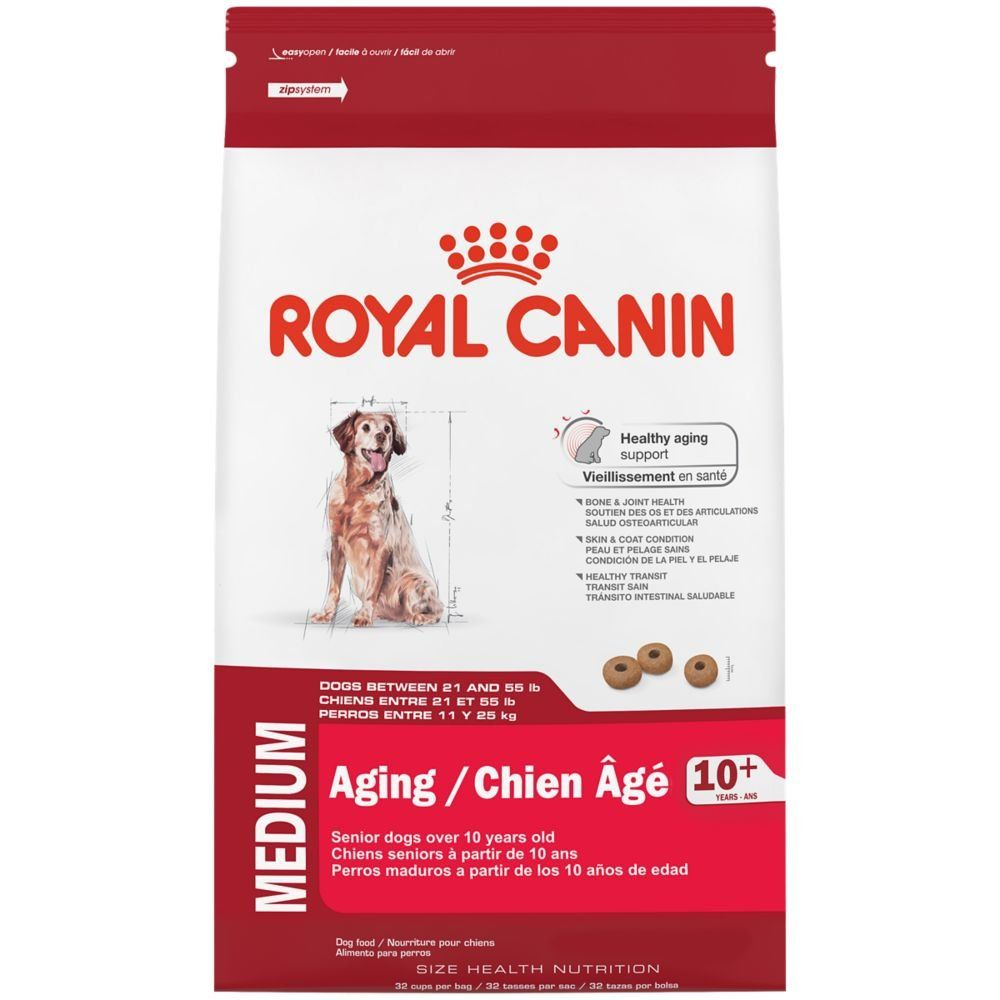 Royal canin size health nutrition medium aging 10 dry dog