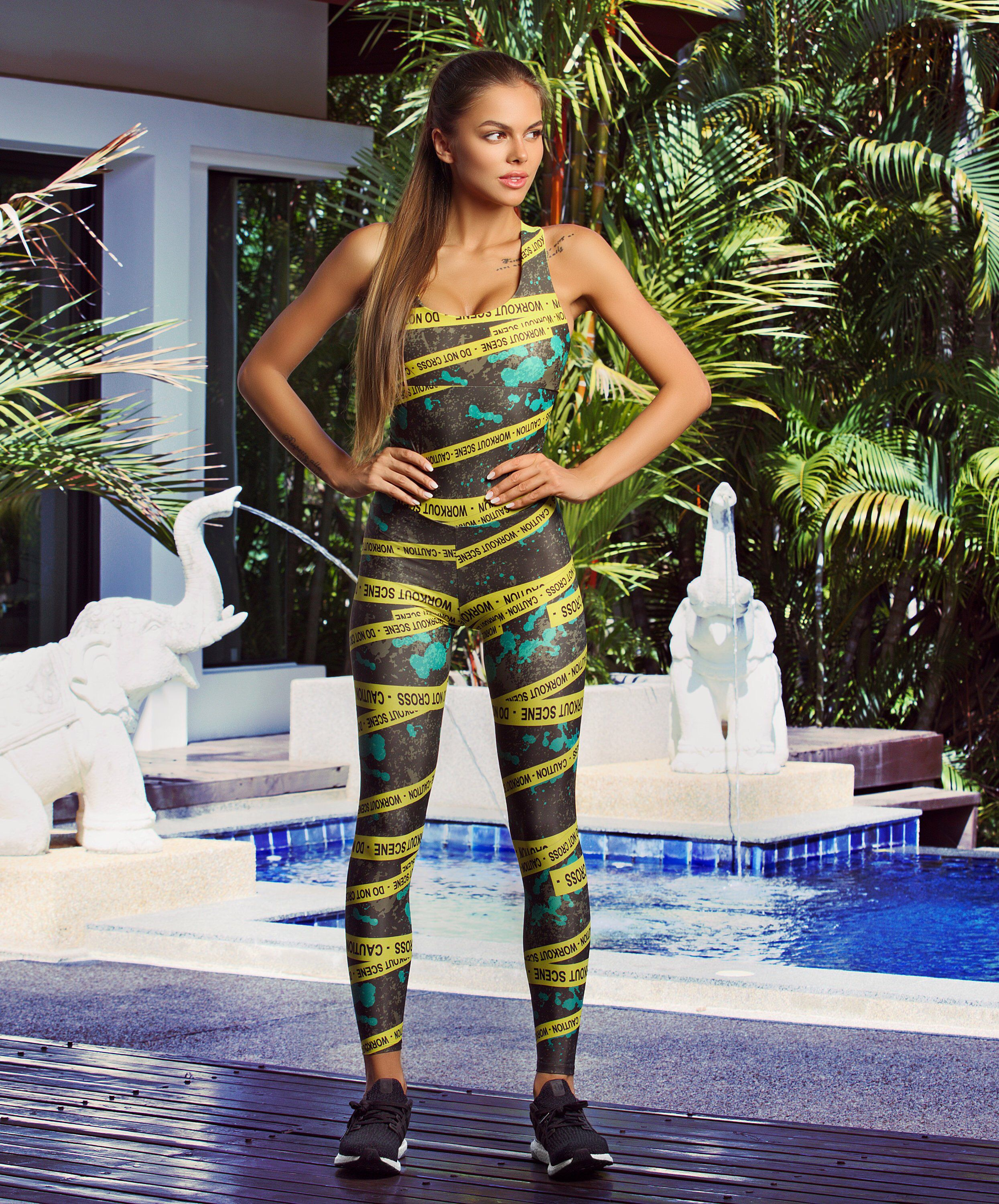 3c98a3d7e7182 Jumpsuit Sport woman outfit Casual active wear Great For Yoga ...