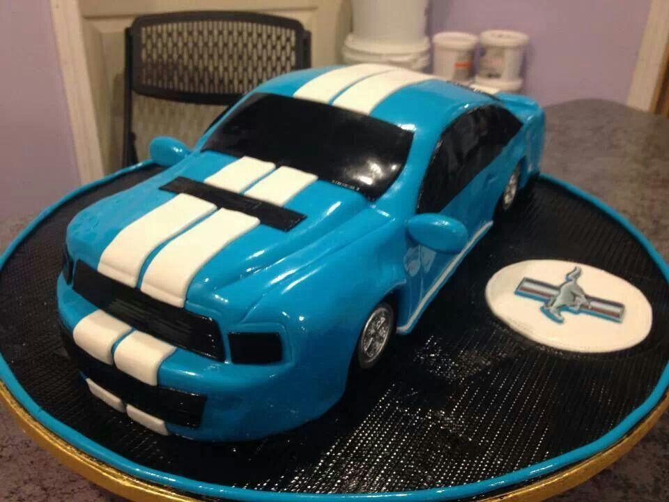 Mustang cake torten deko pinterest kuchendeko for Cars kuchendeko