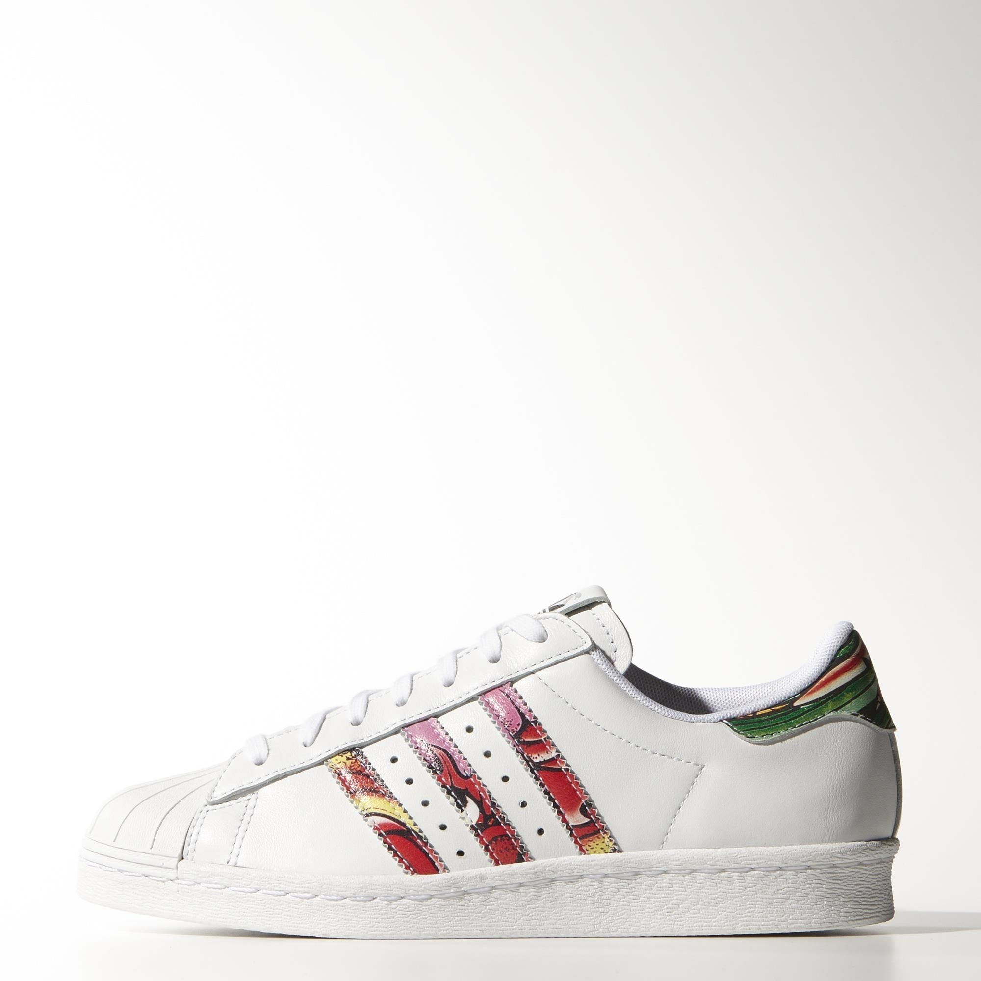 Adidas Superstar Rayas Colores