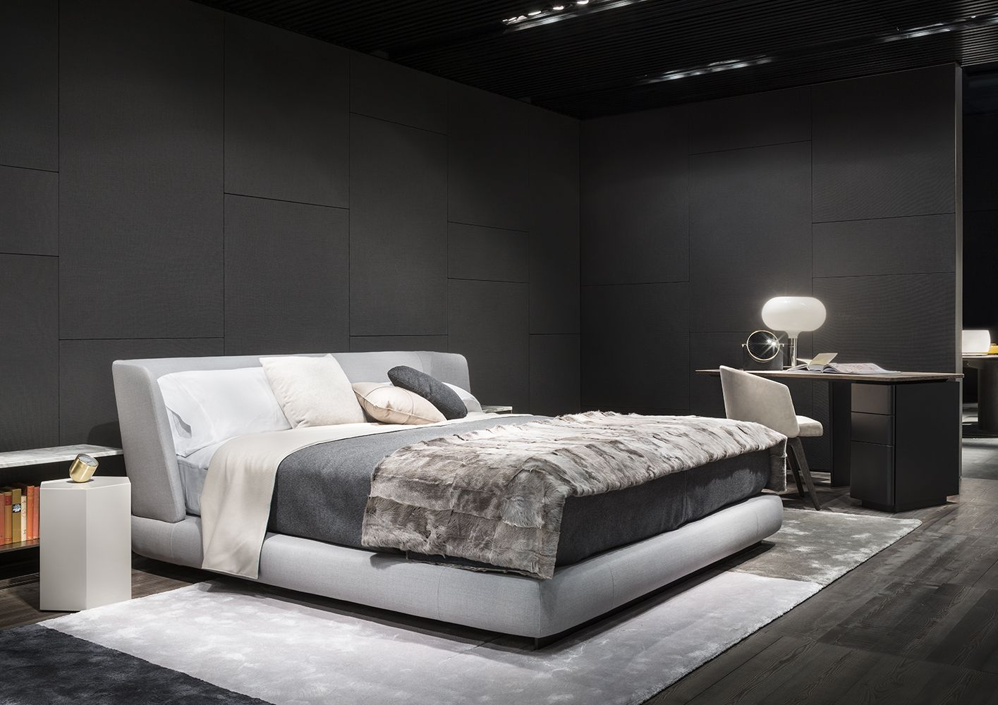 minotti letti testiera letto poliform imbottita with minotti letti mescolando divano letto. Black Bedroom Furniture Sets. Home Design Ideas