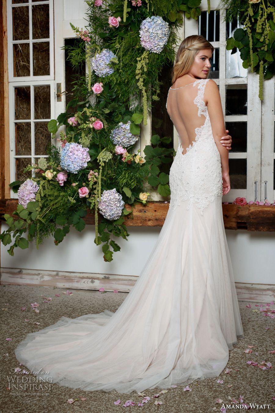 Amanda wyatt ucshe walks with beautyud bridal collection