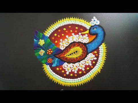 Rangoli Peacock || Peacock Rangoli Designs For Diwali || Diwali Rangoli - YouTube #rangolidesignsdiwali Rangoli Peacock || Peacock Rangoli Designs For Diwali || Diwali Rangoli - YouTube #rangolidesignsdiwali