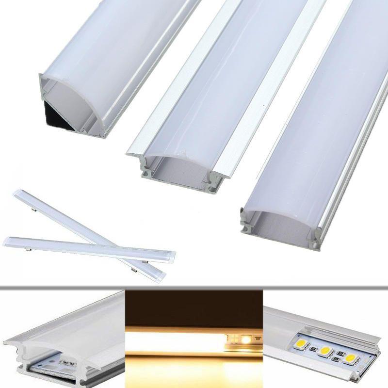 30cm Aluminum Channel Holder For Led Rigid Strip Light Bar Under Cabinet Lamp Led Strip From Lights Lighting On Banggood Com Led Strip Lighting Strip Lighting Led Light Bars