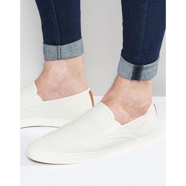 White sneakers men, Mens slip on shoes