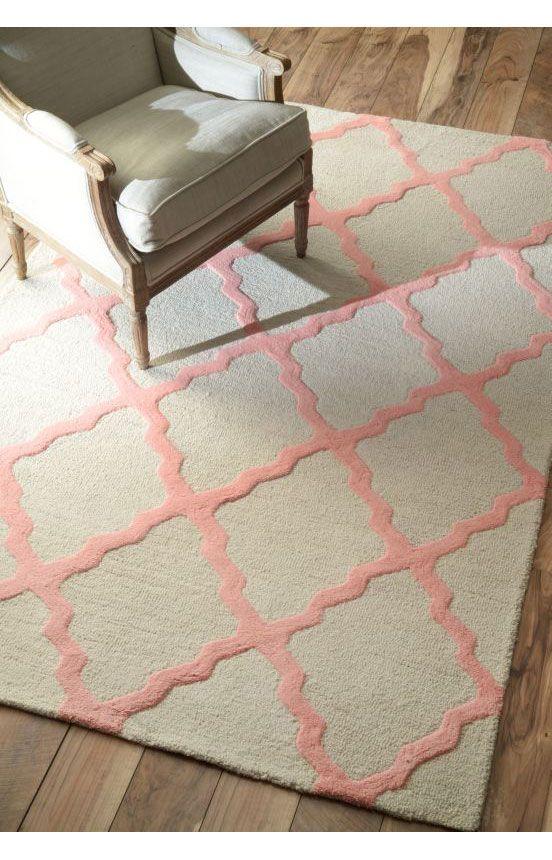 Rugs usa homespun moroccan trellis bubble gum rug rugs usa summer sale up to 80 off area rug - Alfombras contemporaneas ...