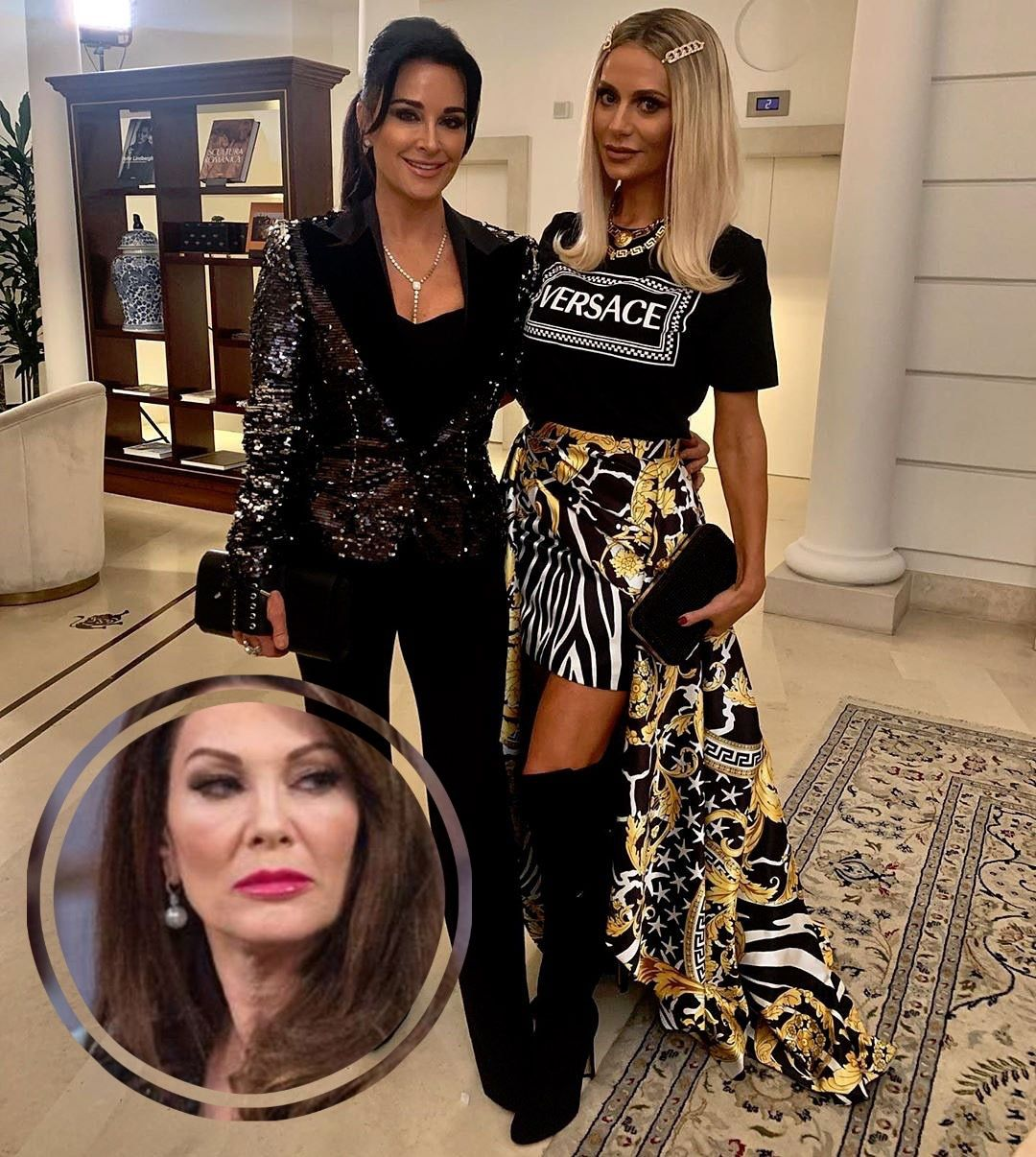 Kyle Richards Talks Rhobh Without Lvp Responds To Dorit Claiming She Saved Her Fashion Show Fashion Fashion Show Real Housewives
