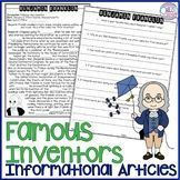 Inventors: Informational Articles and Questions