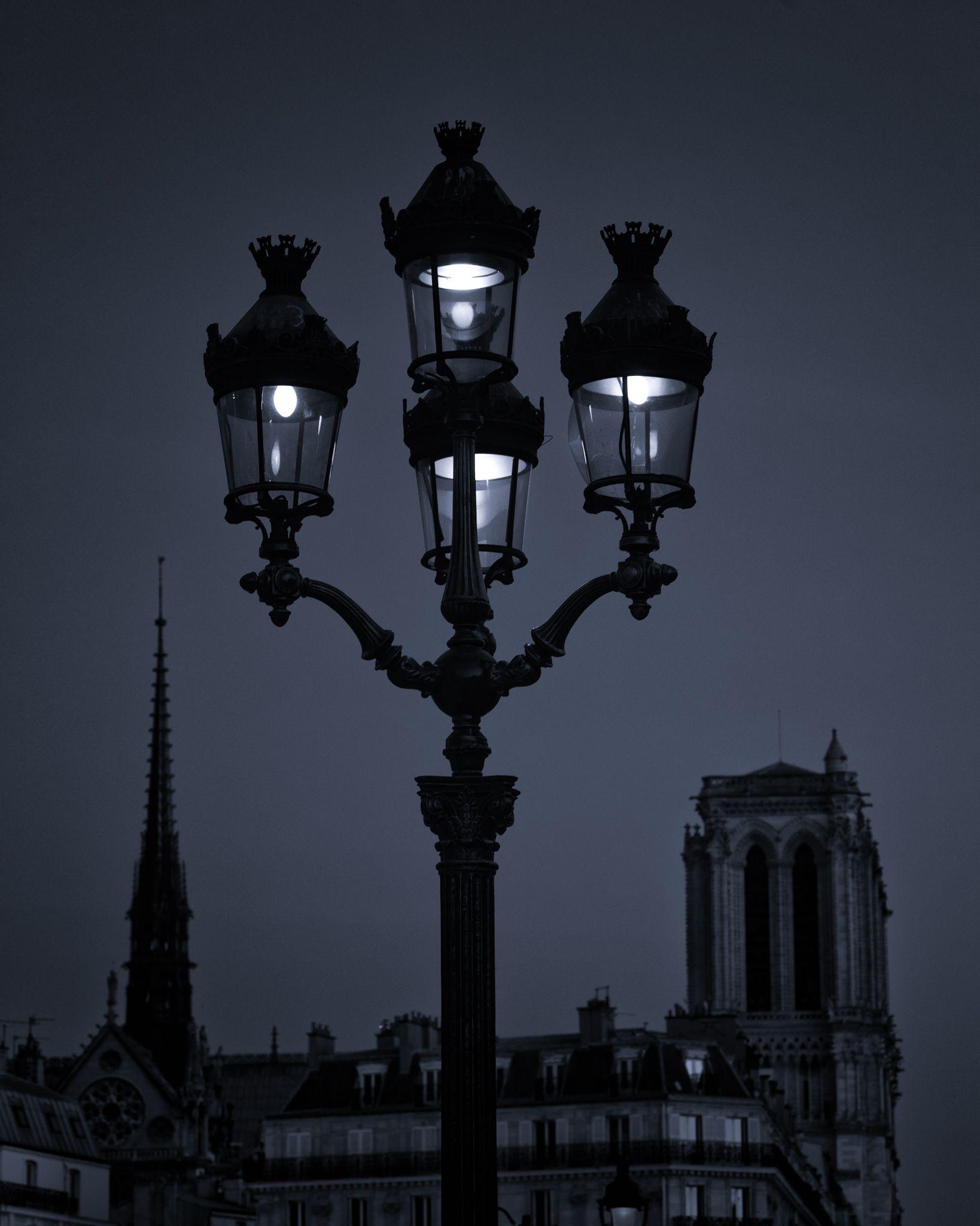 paris lighting street -#main