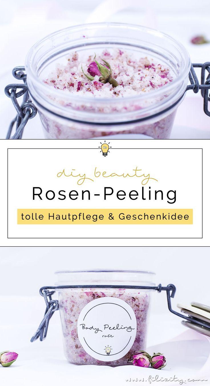 Rosen-Peeling selber machen – DIY Hautpflege & Geschenkidee für Valentinstag