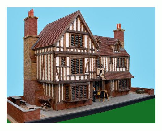 Tudor house model kit