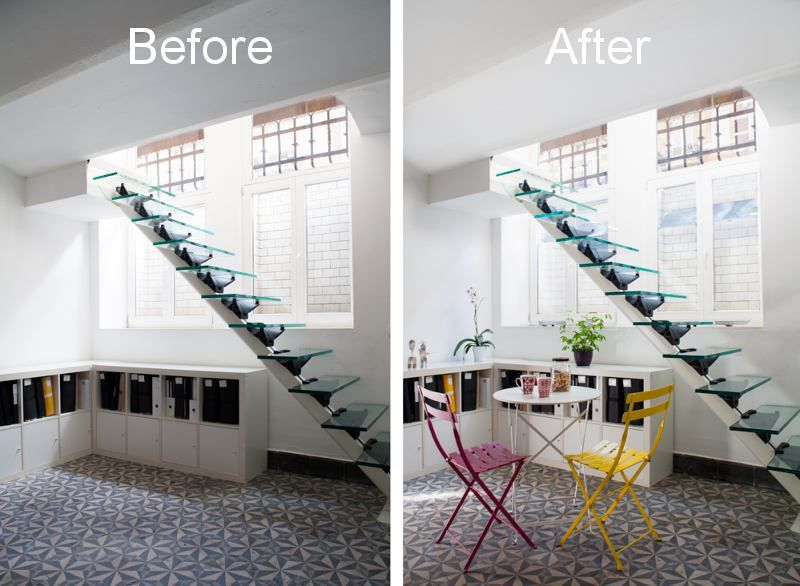 espaciel have the solution to bring light in your basement espaciel a la solution pour. Black Bedroom Furniture Sets. Home Design Ideas