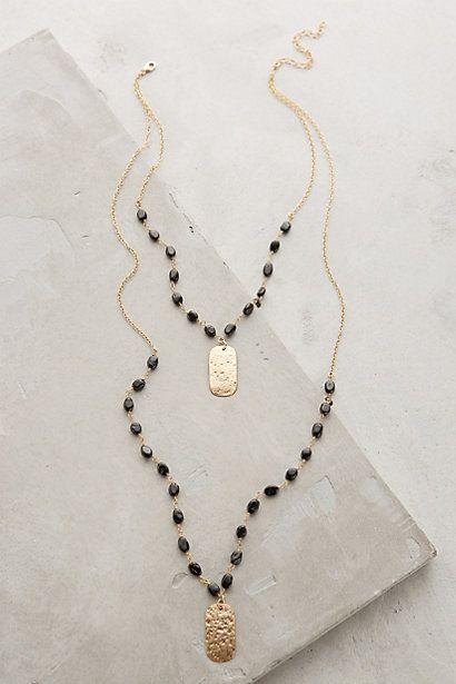 7f33bca9cd8 Ashen Light Layered Necklace  anthroregistry  bijoux  bijouxcreateur   france  paris  bijouxfantaisie  jewelry