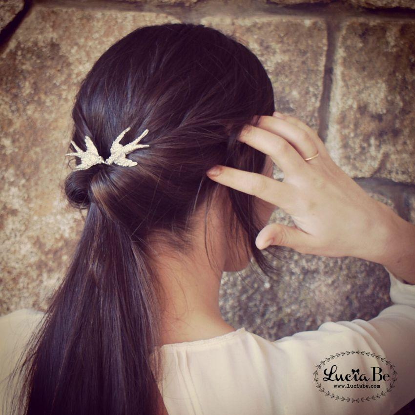 Golondrinas http://luciabe.com/shop/novias-de-primavera/golondrinas/