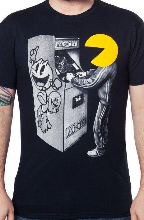 da4d72f3 Pac-Man Gamer T-Shirt | New Mens T-Shirts From 80sTees.com | Gamer t ...