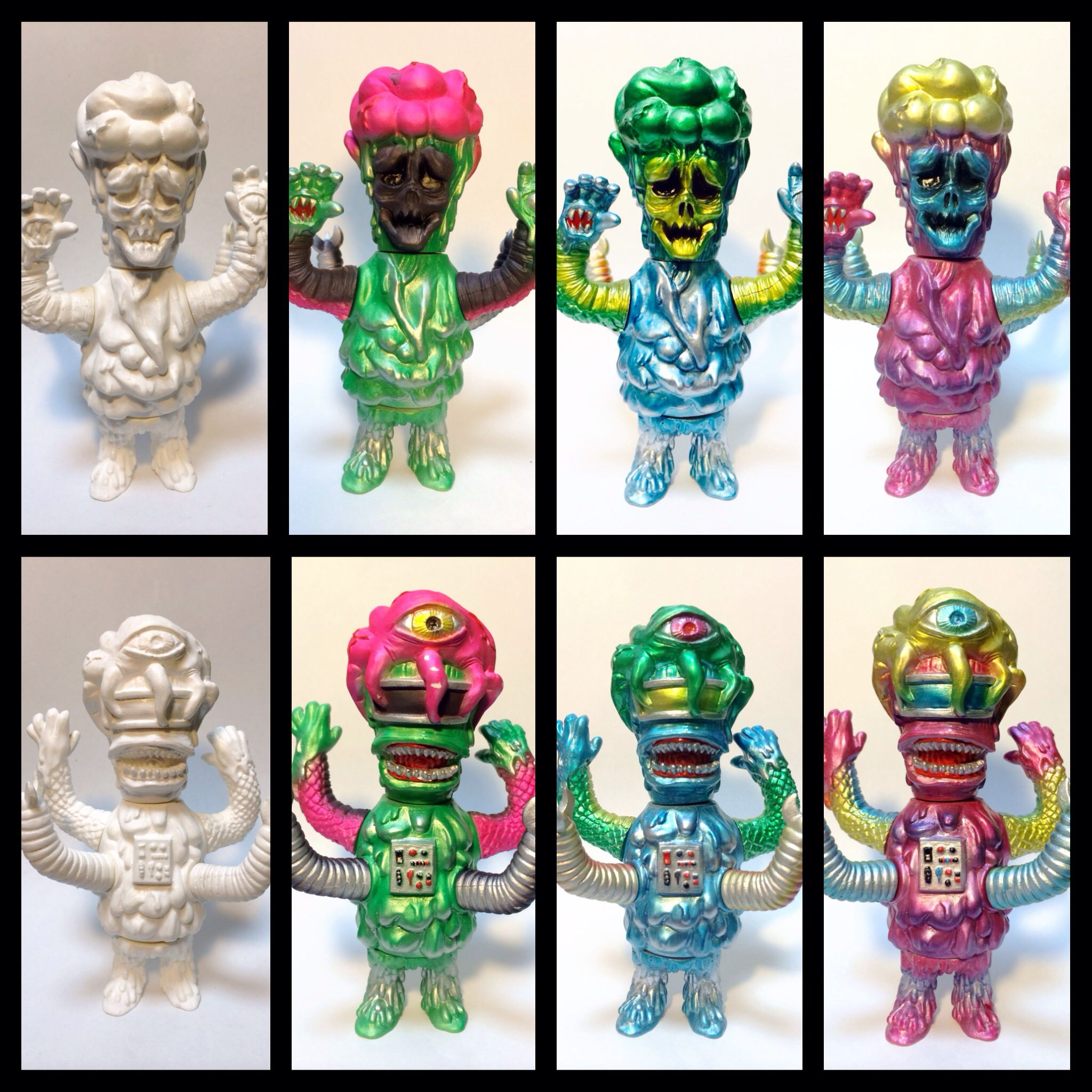 "Mighty Jaxx 8/"" Hamburger Buddha Vinyl Design Figure Toys"
