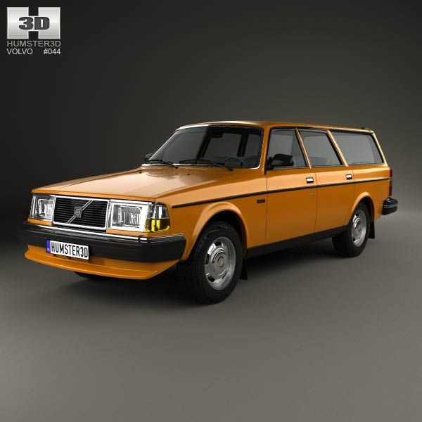 Bmw Z4 Fastback: Volvo 245 Wagon 1979 3d Model From Humster3d.com. Price