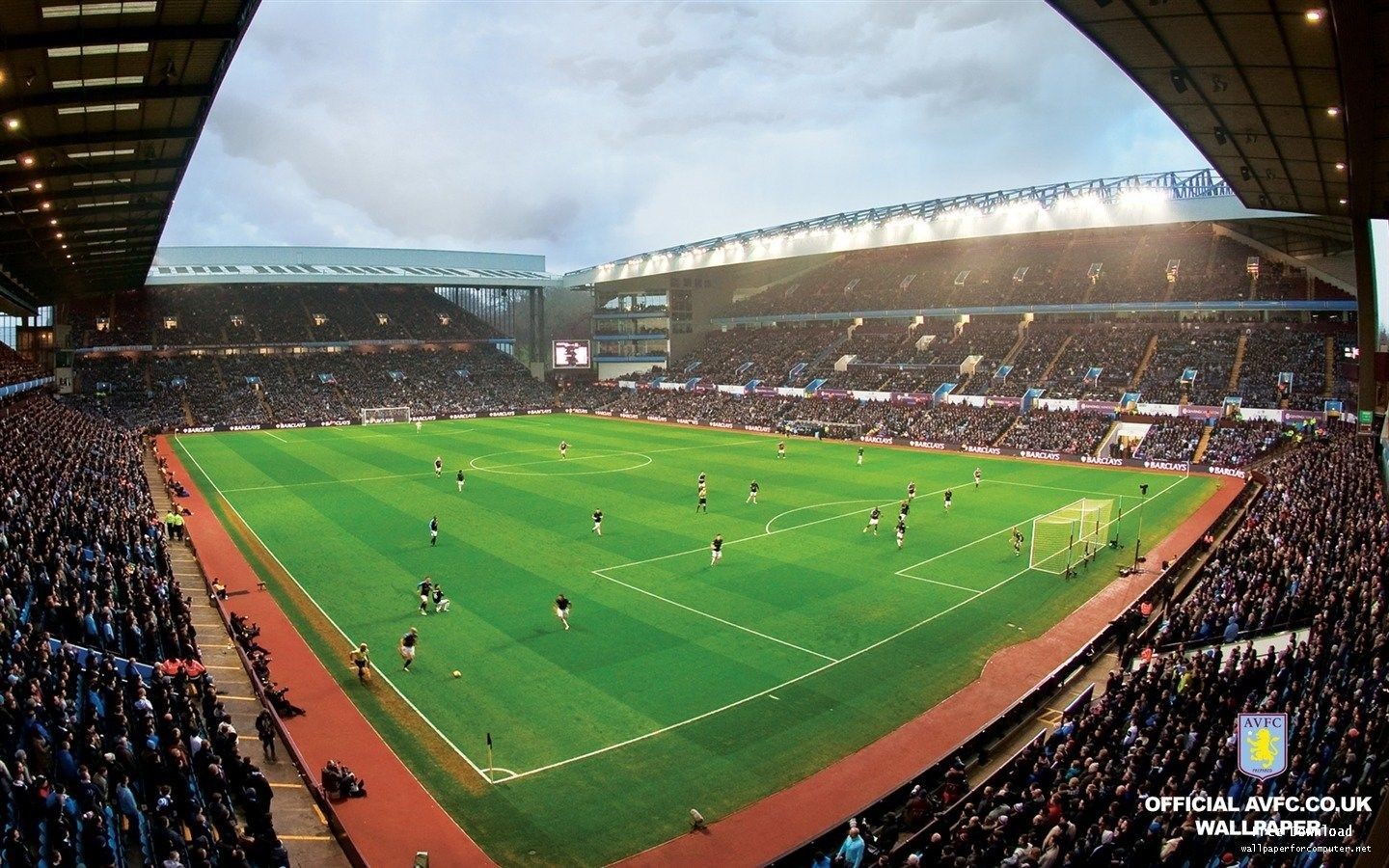 Aston Villa Stadium Wallpaper Ololoshenka Aston Villa