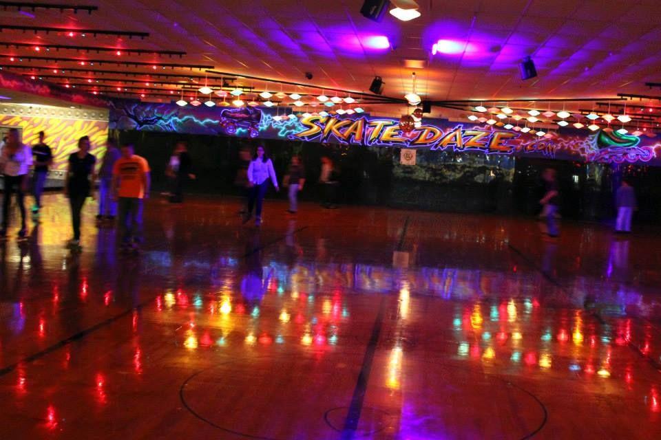diy roller skating floor