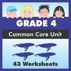 43 worksheet pack for fourth grade ensures that your students have covered every single Grade 4 ELA Common Core State Standard (CCSS).