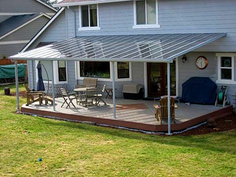 Aluminum Patio And Deck Covers   Ricku0027s Custom Fencing And Decking
