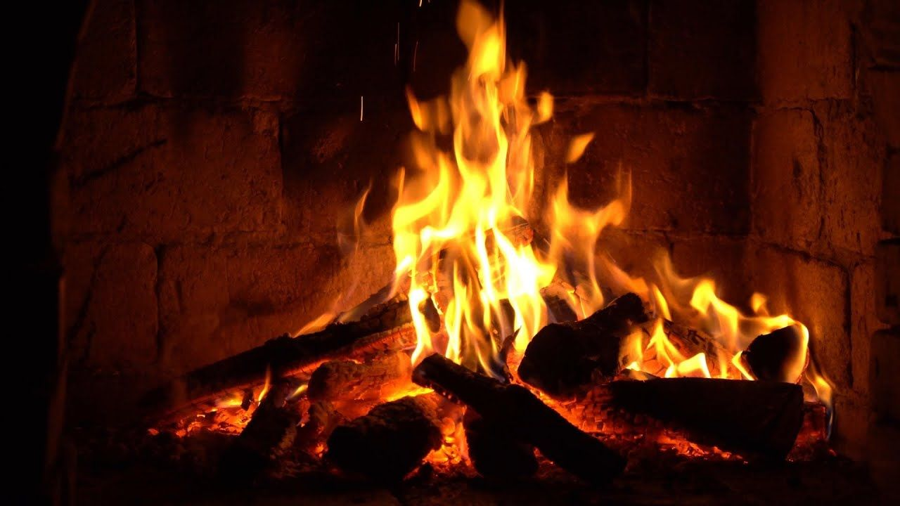 Instrumental Christmas Music With Fireplace 24 7 Merry Christmas