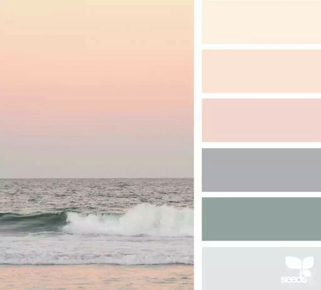 Beach Sunset Colourways Bedroom Colors Calming Colors