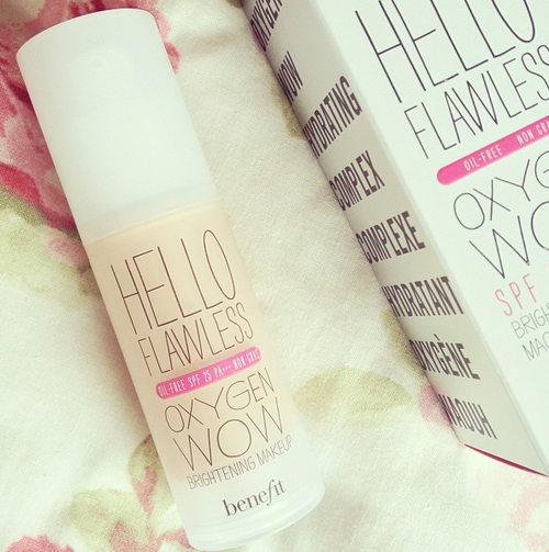 Benefit flawless. ♡