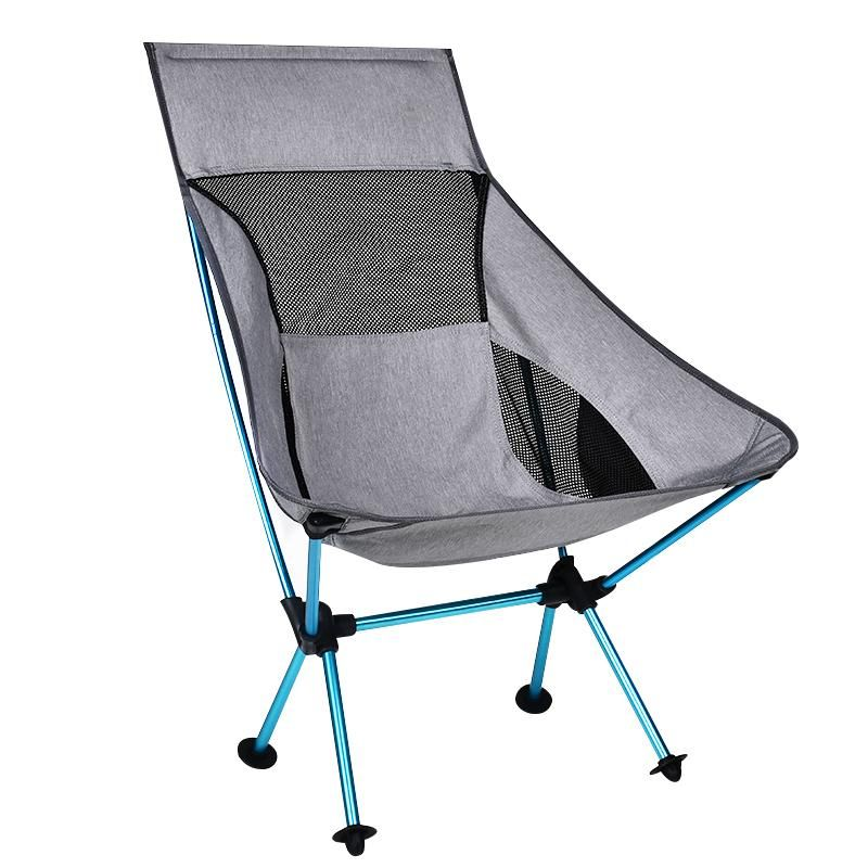 Ultralight Outdoor Fishing Chair Aluminum Folding Small Size Camping Hiking Seat